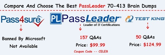 PassLeader 70-413 Brain Dumps[26]