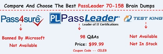 PassLeader 70-158 Exam Questions[34]